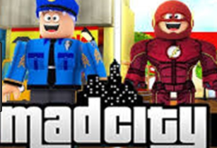 Roblox Mad City Game Online Play Free